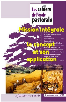 Mission intégrale : le concept et son application